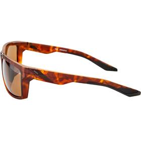 100% Daze Glasses matte dark havana